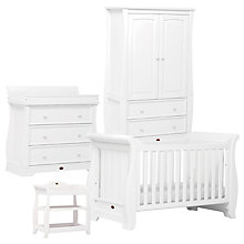 Buy Boori Sleigh Furniture Collection, White Online at johnlewis.com