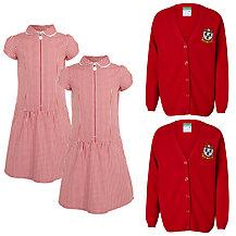 Nottingham High School Girls' Infants Uniform Ages 4-6