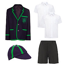 The Pointer School Boys' Reception to Year 5 Summer Uniform