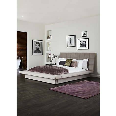 Buy John Lewis Trafalgar Bedstead, Super Kingsize, Dove Grey Online at johnlewis.com