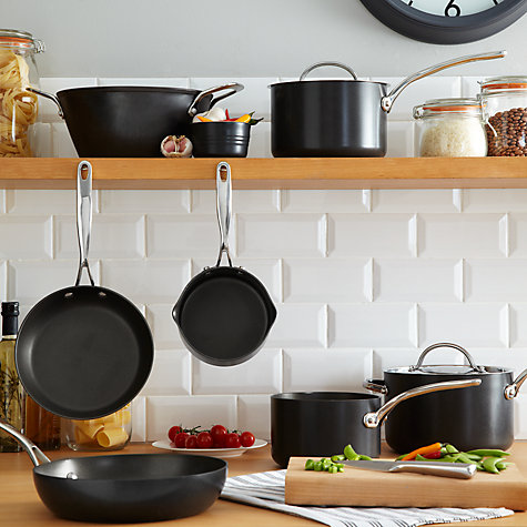 Buy Simply Perfect by Raymond Blanc Hard Anodised Chef's Pan with Lid, Dia.26cm Online at johnlewis.com