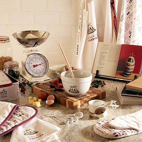 Buy John Lewis Traditional Kitchen Scale, 10kg, Cream Online at johnlewis.com