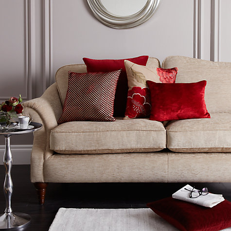 Buy Harlequin Arkona Velvet Cushion Online at johnlewis.com