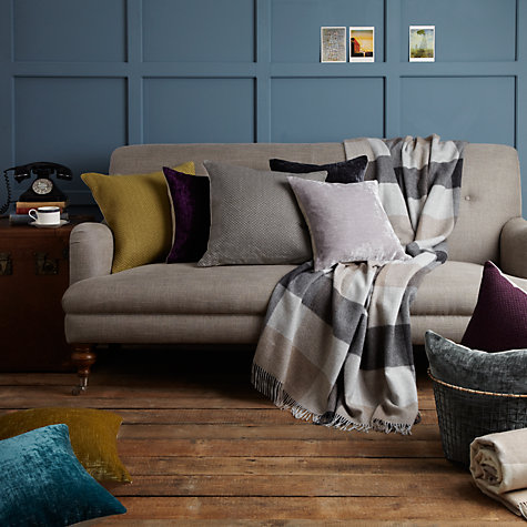 Buy John Lewis Pintuck Pleats Cushion Online at johnlewis.com