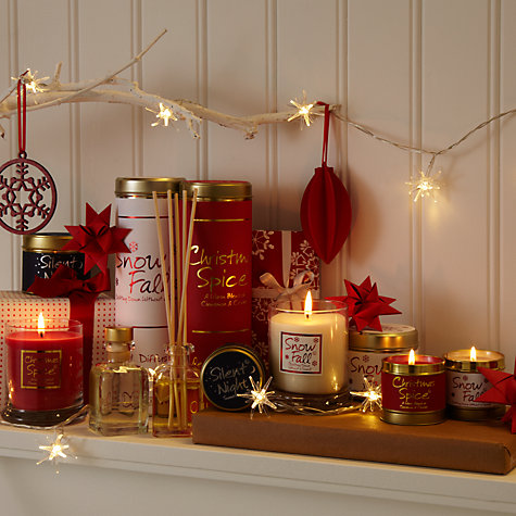 Buy Lily-Flame Candle in a Tin, Silent Night Online at johnlewis.com