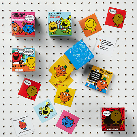 Buy Mr Men Box Trivia Mr Clever Teasing Trivia Online at johnlewis.com