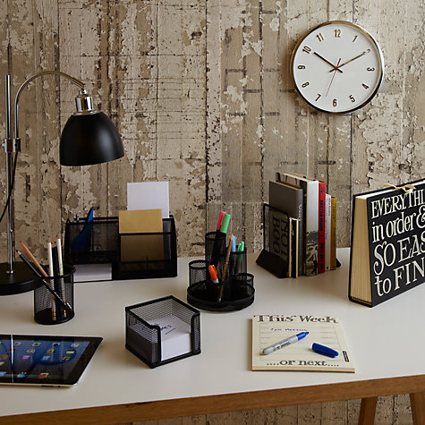Buy Black Mesh Stationery Range Online at johnlewis.com