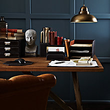 Buy John Lewis Brown Desk Accessories Online at johnlewis.com