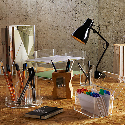Buy Acrylic Pen Pot Online at johnlewis.com