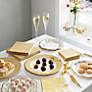 Buy Talking Tables Porcelian Crackers, Gold, Pack of 8 Online at johnlewis.com