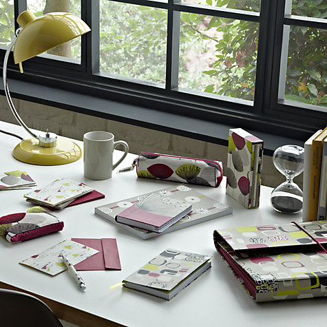 Buy Sanderson Dandelion Clocks Slim Notebook, Multi Online at johnlewis.com