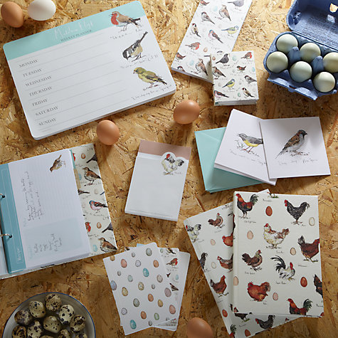 Buy Madeleine Floyd Birdsong Weekly Planner Online at johnlewis.com