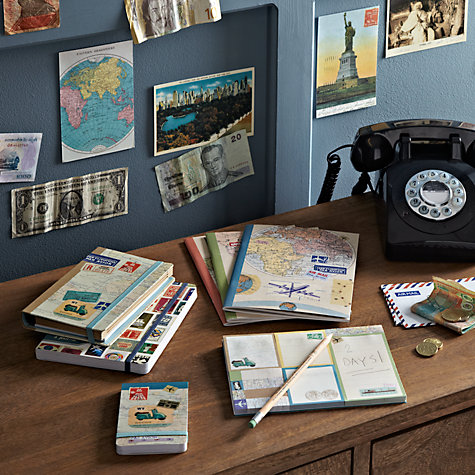 Buy Chronicle Books Bon Voyage Sticky Notes, Pack of 8 Online at johnlewis.com