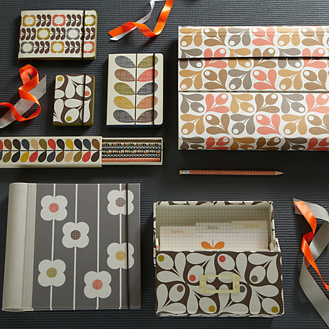 Buy Orla Kiely Acorn Cup Recipe Box Online at johnlewis.com