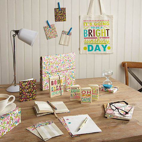 Buy Caroline Gardner Ditsy Letter Set Online at johnlewis.com
