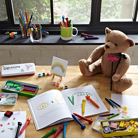 Buy Natural Products Great Big Colouring Pencils, Pack of 12 Online at johnlewis.com