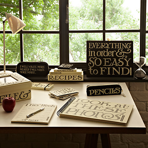 Buy Emma Bridgewater Black Toast Stationery Range Online at johnlewis.com