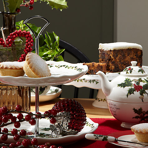 Buy Portmeirion The Holly & The Ivy Tea for One Set Online at johnlewis.com