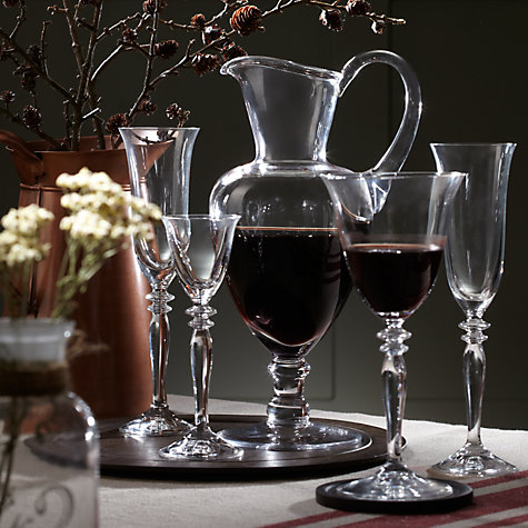 Buy John Lewis Provence Flutes, Set of 4 Online at johnlewis.com