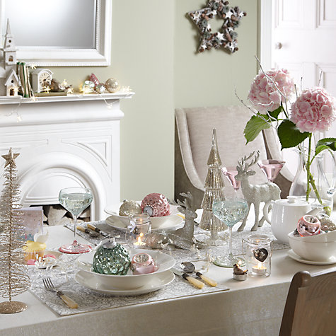 Buy John Lewis Vintage Christmas Table Linens & Accessories Online at johnlewis.com