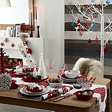 Buy House by John Lewis Snowflake Table Linens & Accessories Online at johnlewis.com