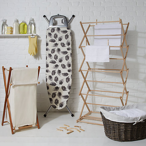 Buy John Lewis Laundry Hamper, White Online at johnlewis.com