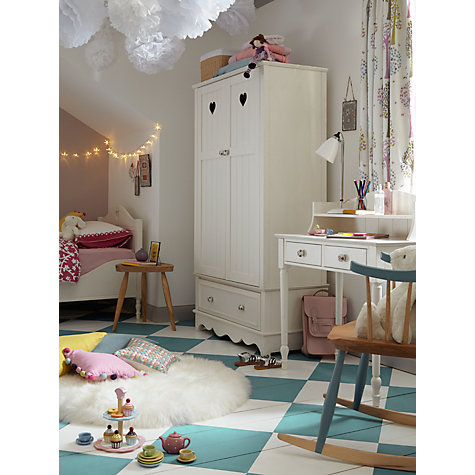 Buy little home at John Lewis Victoria Dressing Table and Top, White Online at johnlewis.com