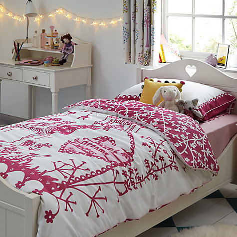 Buy little home at John Lewis Victoria Bed Frame, Single, White Online at johnlewis.com