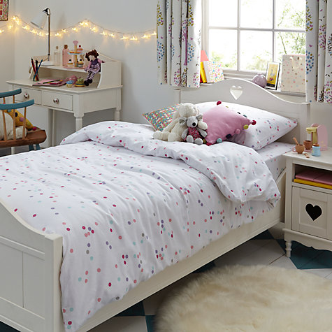 Buy little home at John Lewis Victoria Bedstead, Single, Ivory Online at johnlewis.com