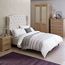 House by John Lewis Mix it T-bar Bedroom Range, Gloss White