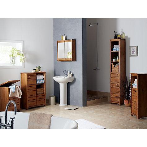 Creative Buy John Lewis Gloss Single Mirrored Bathroom Cabinet  John Lewis