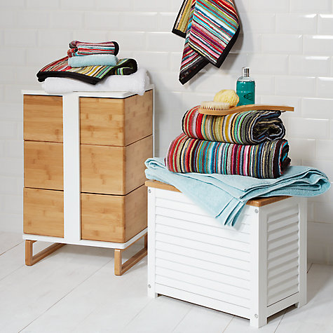 Buy John Lewis Stardust Stripe Towels Online at johnlewis.com