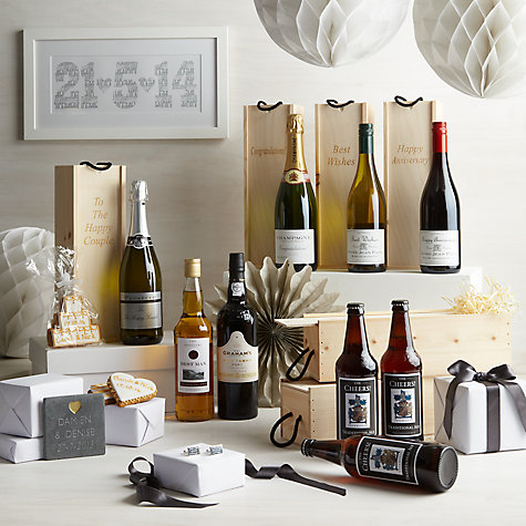 Buy Personalised White Wine Gift Set, 75cl Online at johnlewis.com
