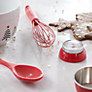 Buy House by John Lewis Silicone Solid Spoon, Red Online at johnlewis.com