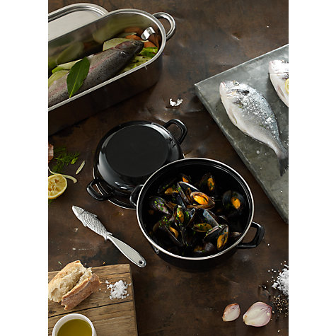 Buy John Lewis Speciality Mussel Pot Online at johnlewis.com