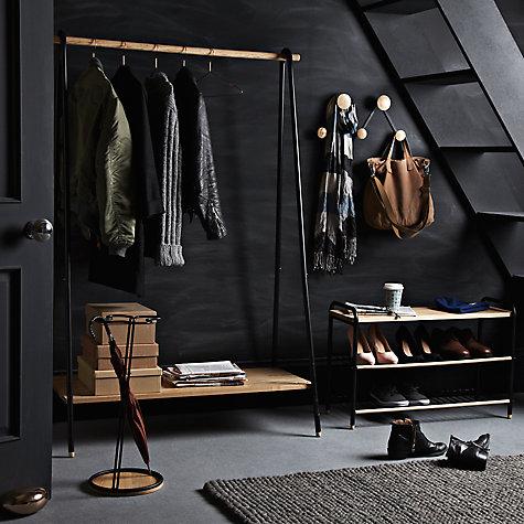 Buy john lewis brooklyn clothes rail john lewis - Designer clothes rack ...