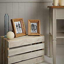 Buy John Lewis Contoured Wood Photo Frame Range Online at johnlewis.com