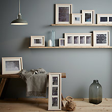 Buy John Lewis Croft Collection Photo Frame Range, Cream Online at johnlewis.com