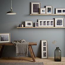 Buy John Lewis Croft Collection Photo Frame Range, Grey Online at johnlewis.com