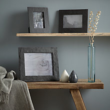 Buy John Lewis Croft Collection Slate Photo Frame Range Online at johnlewis.com