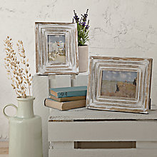 Buy John Lewis Maison Limed Wood Photo Frame Range Online at johnlewis.com