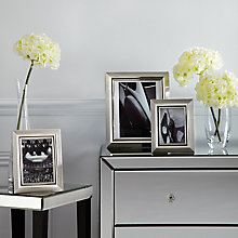 Buy John Lewis Silverplated Rib Edge Photo Frame Range Online at johnlewis.com