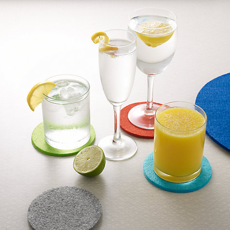 Buy John Lewis The Basics Flutes, Set of 4 Online at johnlewis.com