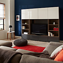 House by John Lewis Match TV Stands & Media Units Range