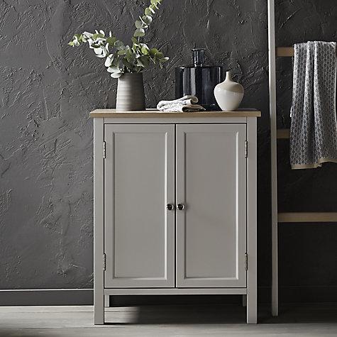 Buy Croft Collection Blakeney Double Towel Cabinet Light