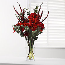 Buy Floralsilk Oriental Mum, Red Online at johnlewis.com