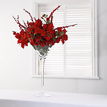 Buy Red Poinsettia Arrangement Online at johnlewis.com