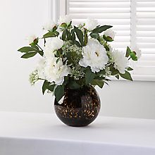 Buy White Peony Arrangement Online at johnlewis.com