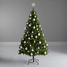 Buy John Lewis The Basics Christmas Tree and Silver Decorations Set Online at johnlewis.com