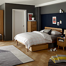 Buy house by john lewis bow slatted headboard bed frame for John lewis bedroom ideas